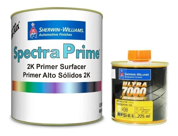 Primer PU Spectra Prime 900ml com Catalisador 225ml Sherwin-Williams