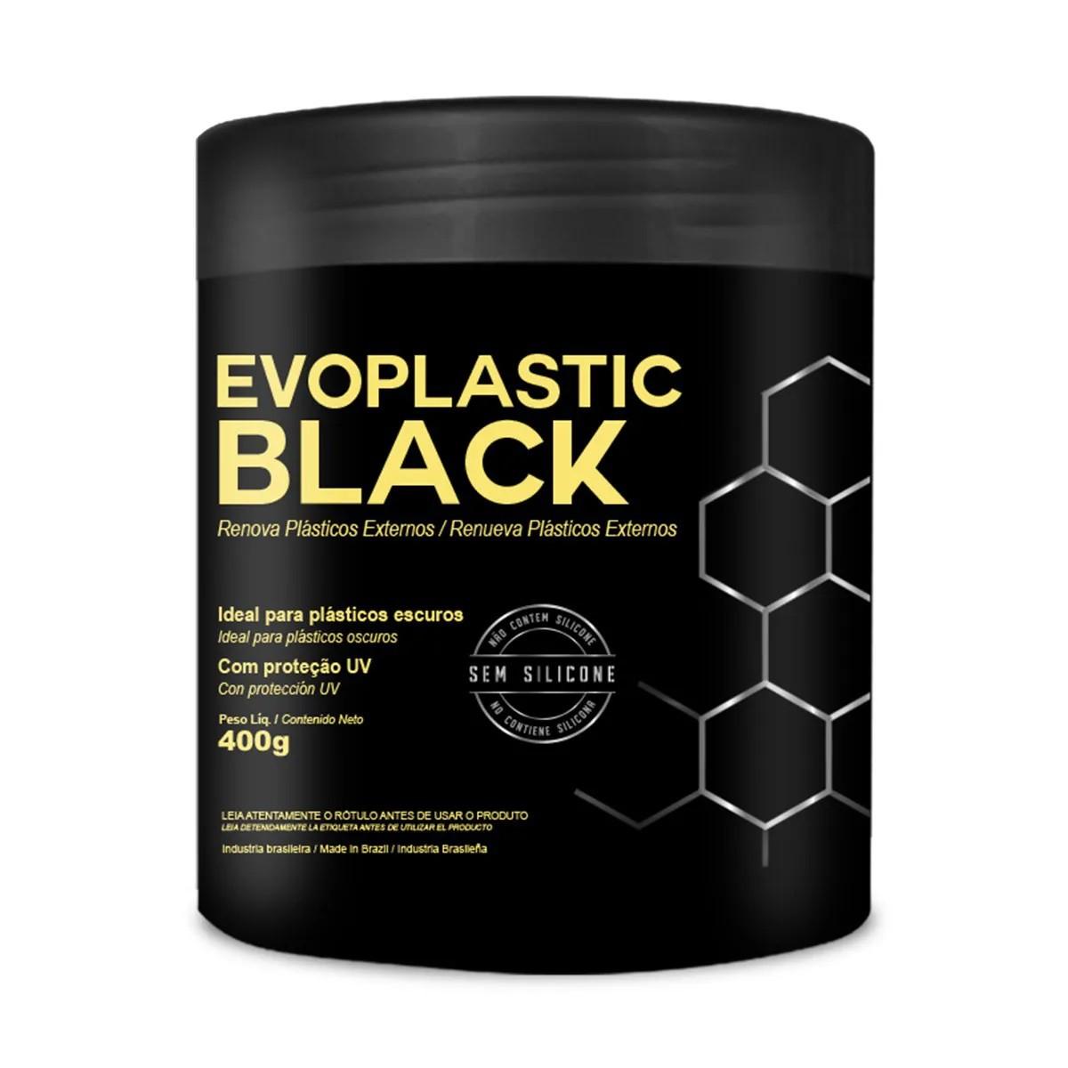 Renova Plásticos Externos 400g Evoplastic Black Evox