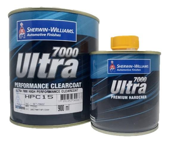 Verniz Fast HPC15 Ultra 7000 900ml + Endurecedor UH80 225ml Sherwin-Williams