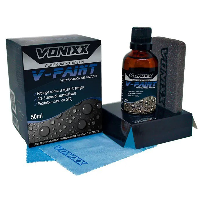 Vitrificador de Pintura V-Paint 50ml Vonixx