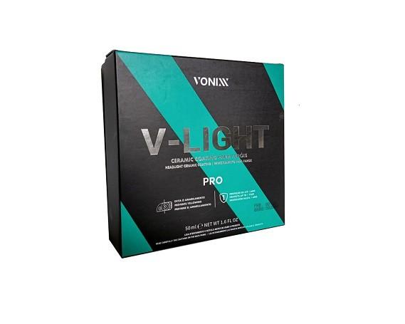 Vitrificador Revestimento para Faróis V-Light 50ml Vonixx