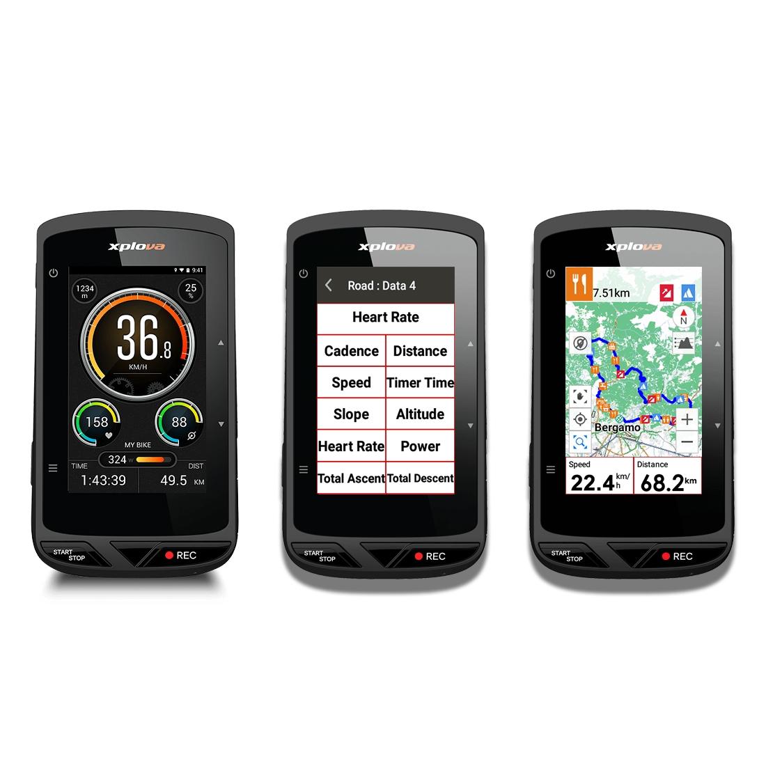 CICLOCOMPUTADOR GPS X5 EVO COM CÂMERA