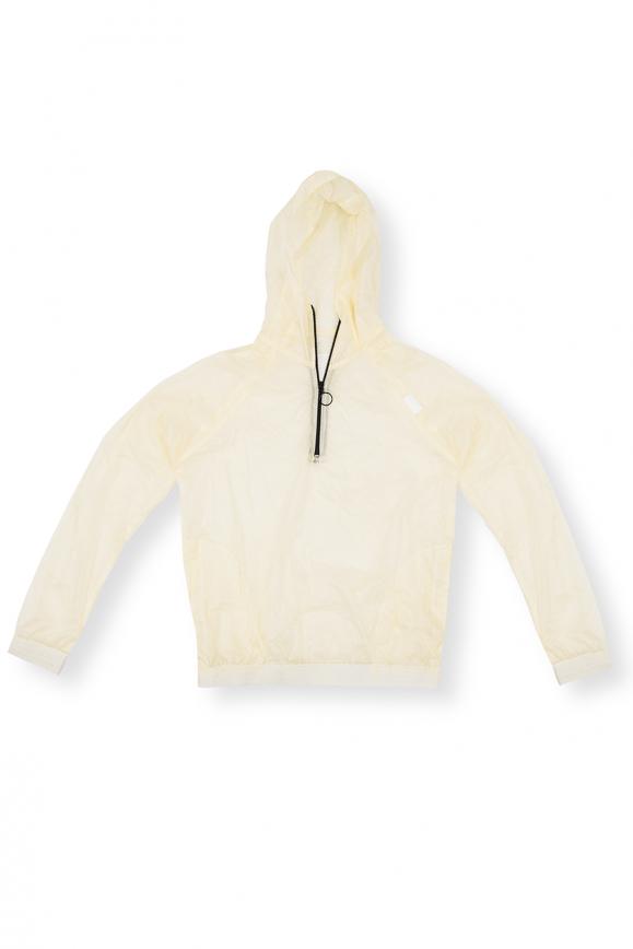 Blusa Anorak Impermeável - Transparente
