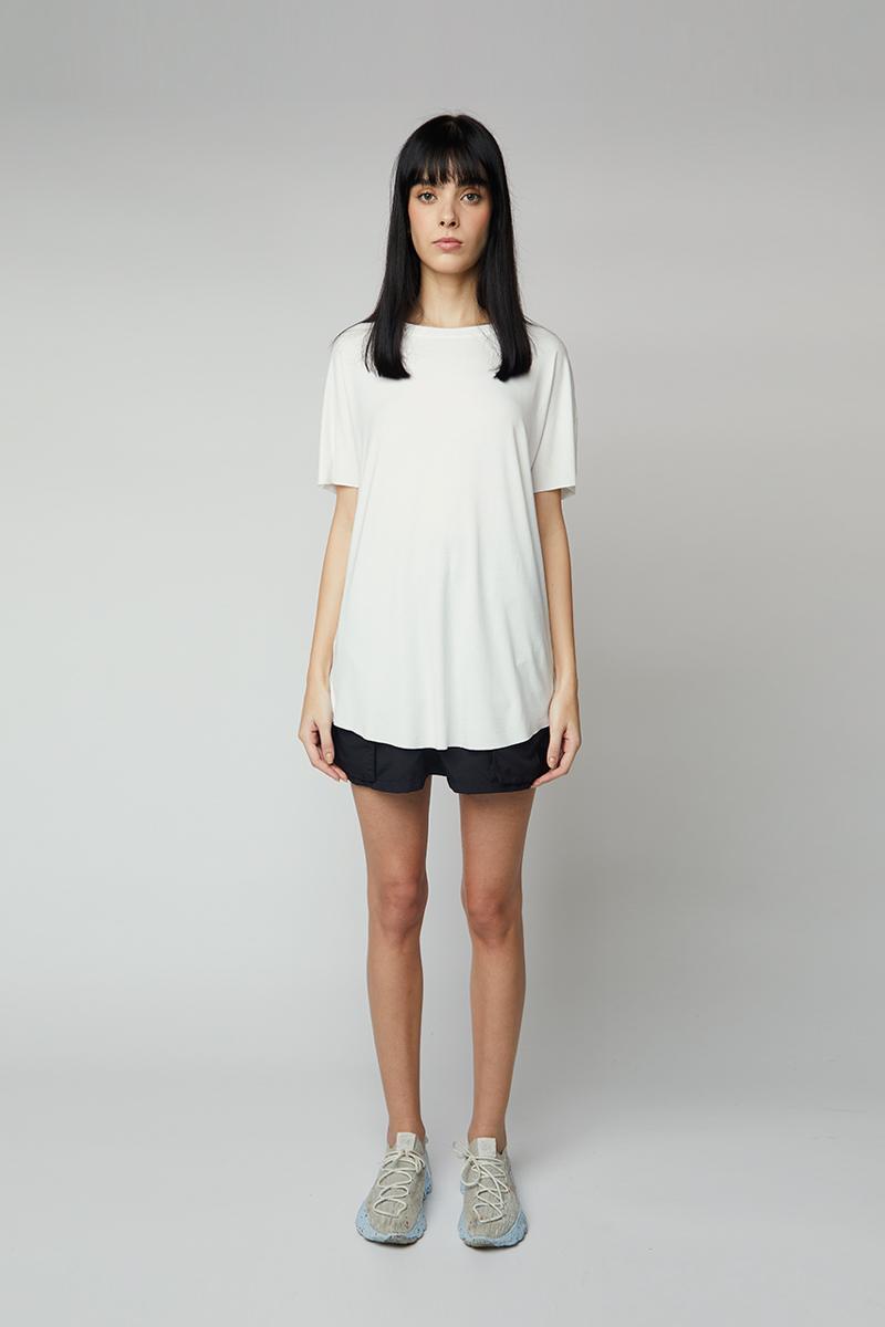 camiseta essential - branco