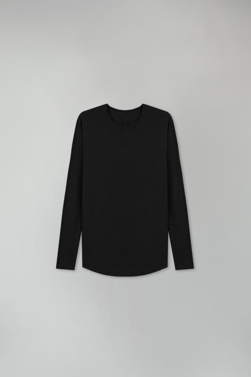 camiseta jumper - preto