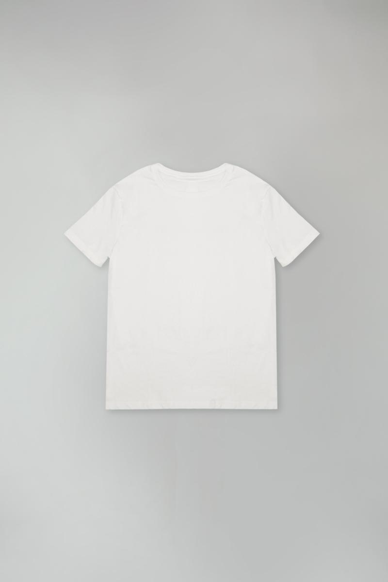 camiseta organic classic fio40 - branco