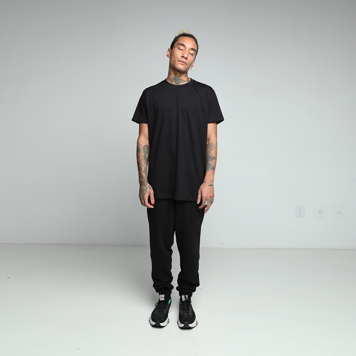 Camiseta Sk8 - Preto