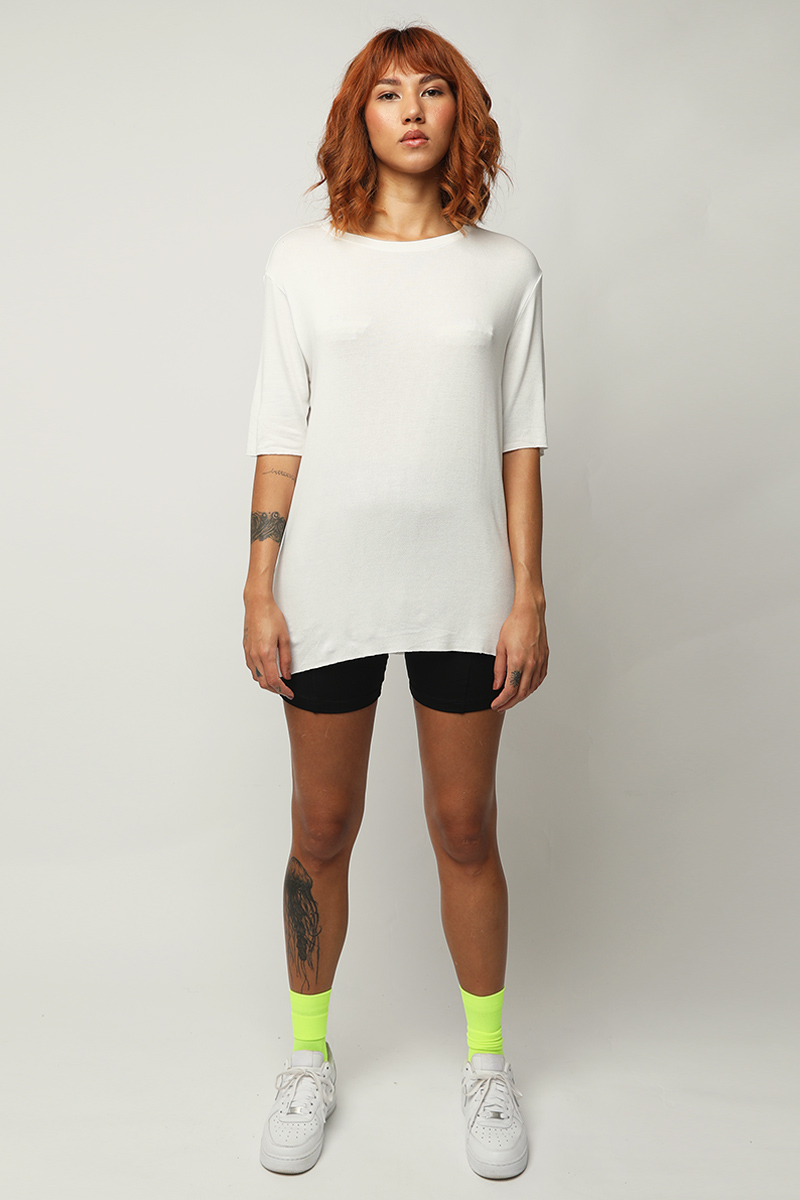 camiseta soft - branco