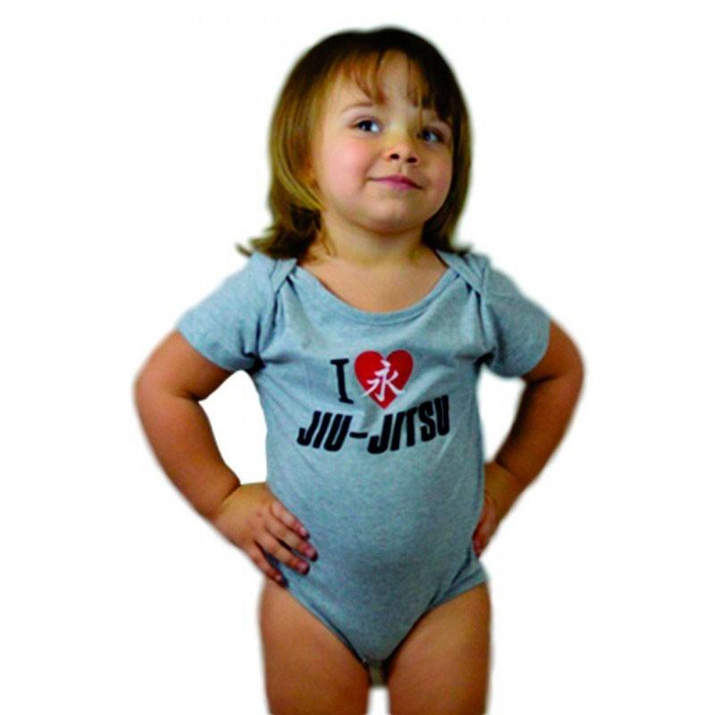 Baby Body Jiu Jitsu Cinza Keiko