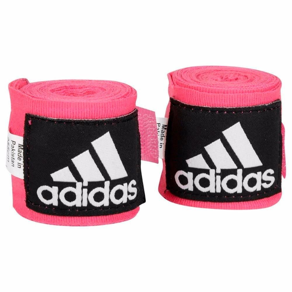 Bandagem Adidas Boxe/Muay Thai Pink