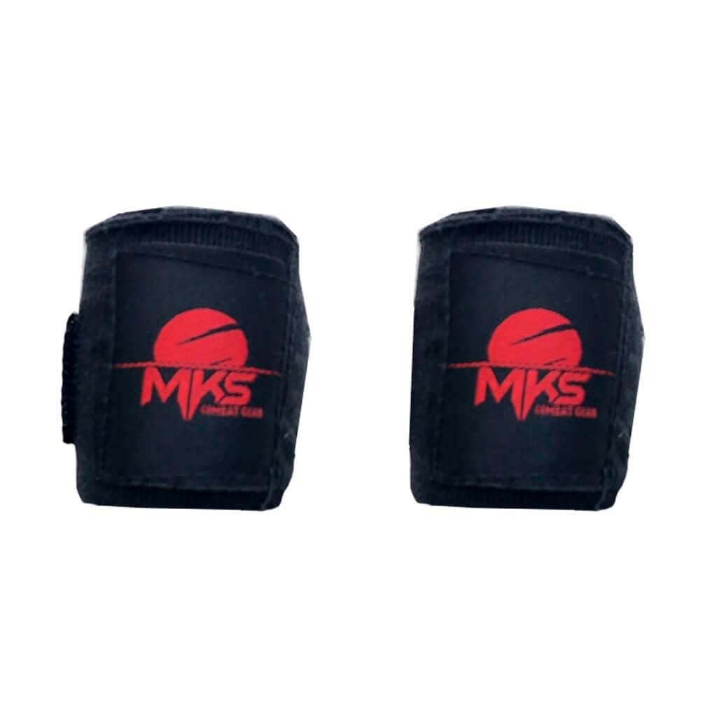 Bandagem MKS boxe Muay Thai Preta 2,20m