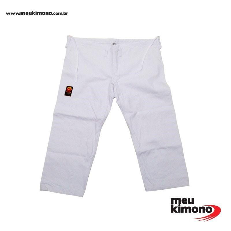 Calça Judo Dragão Branca Adulto Unissex