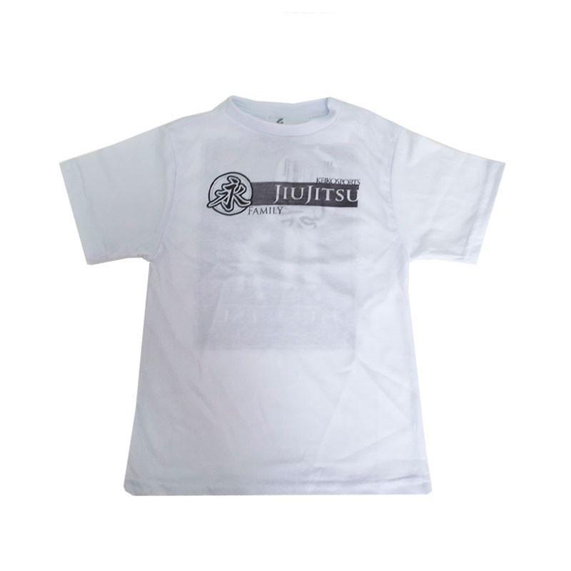 Camiseta Family Branca - Keiko Infantil