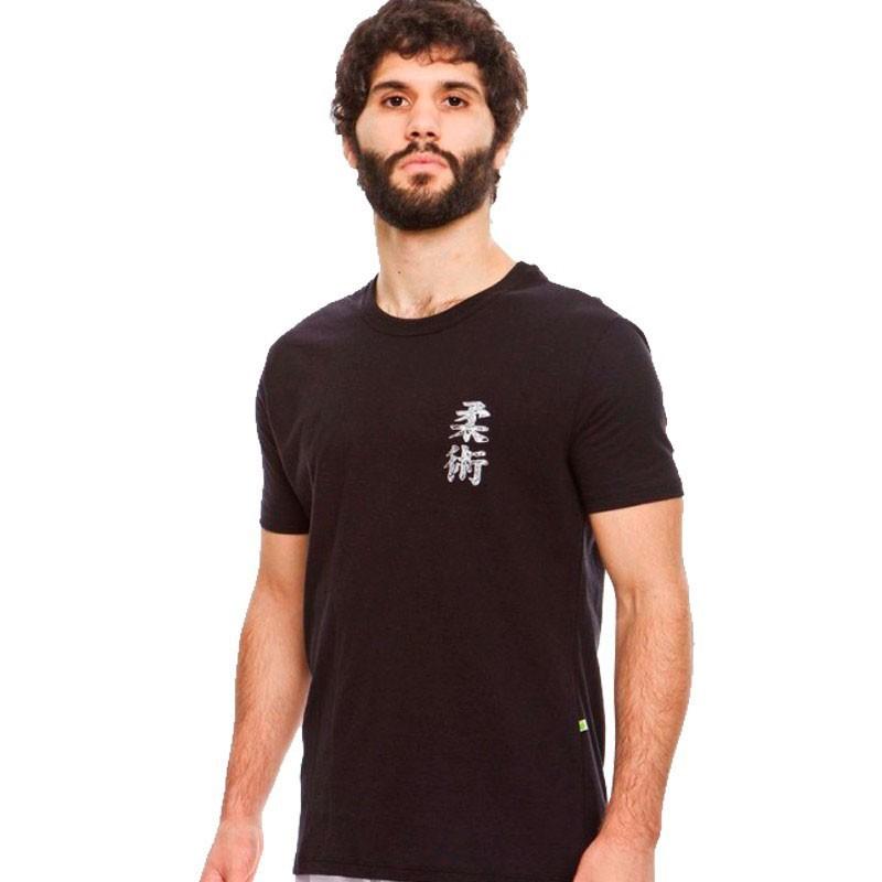 Camiseta Jiu Jitsu Dragão Kanji Preta