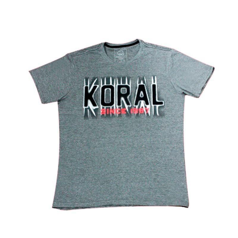 Camiseta Jiu Jitsu Koral Trade Cinza