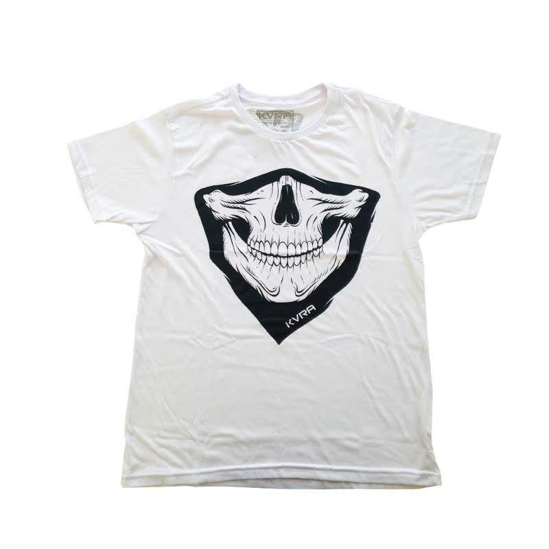 Camiseta Jiu Jitsu Kvra Bandana Branca