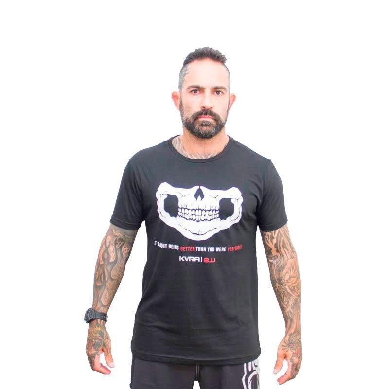 Camiseta Jiu Jitsu Kvra Better Preta