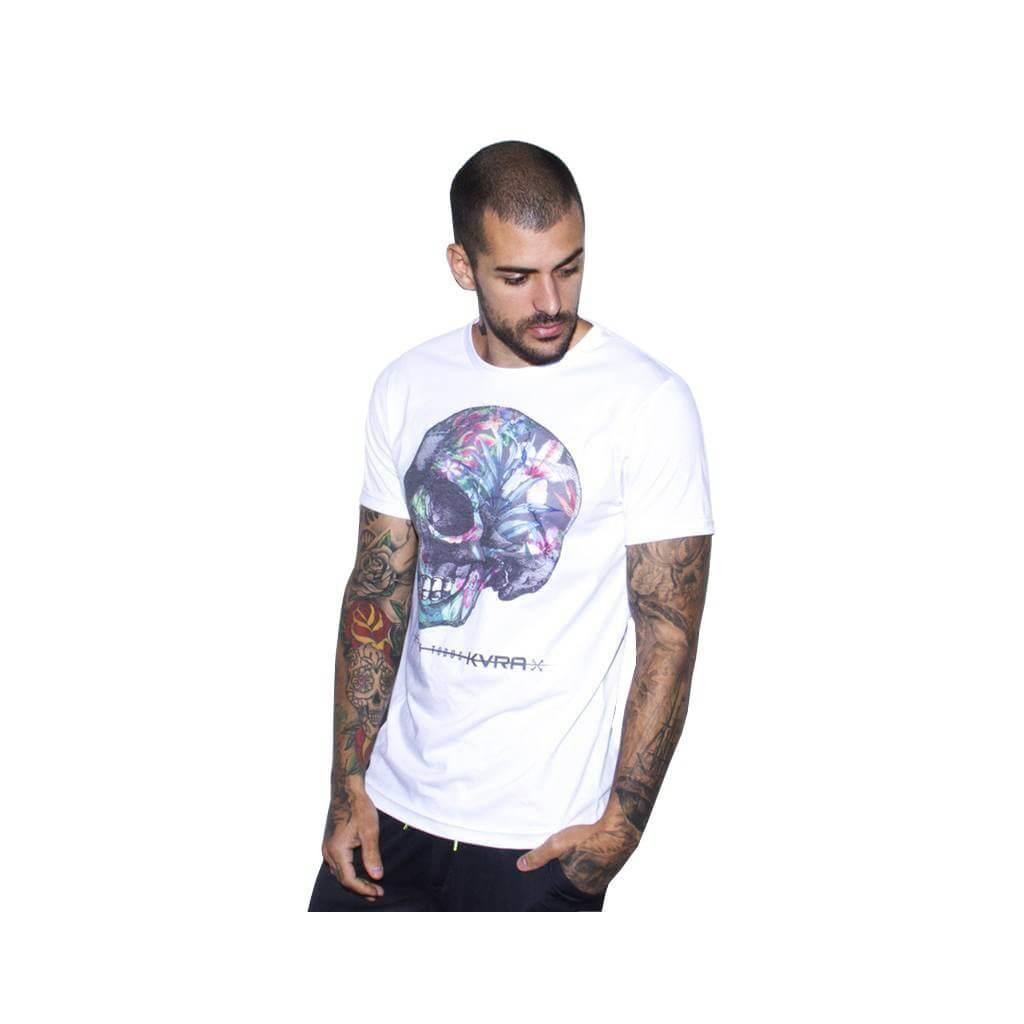 Camiseta Jiu Jitsu Kvra Bloom Branca