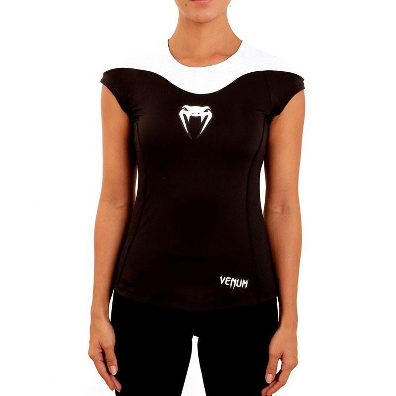 Camiseta Jiu Jitsu Venum Furia Preta Feminina