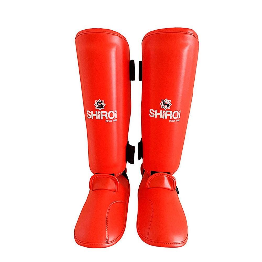 Caneleira Karate Shiroi Oficial CBK SH1K Vermelha