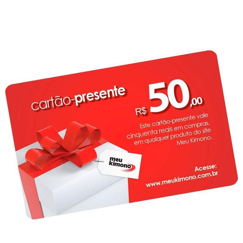 Cartão Presente R$ 50,00