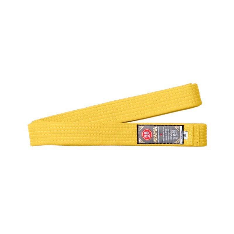 Faixa Atama Tradicional Amarela