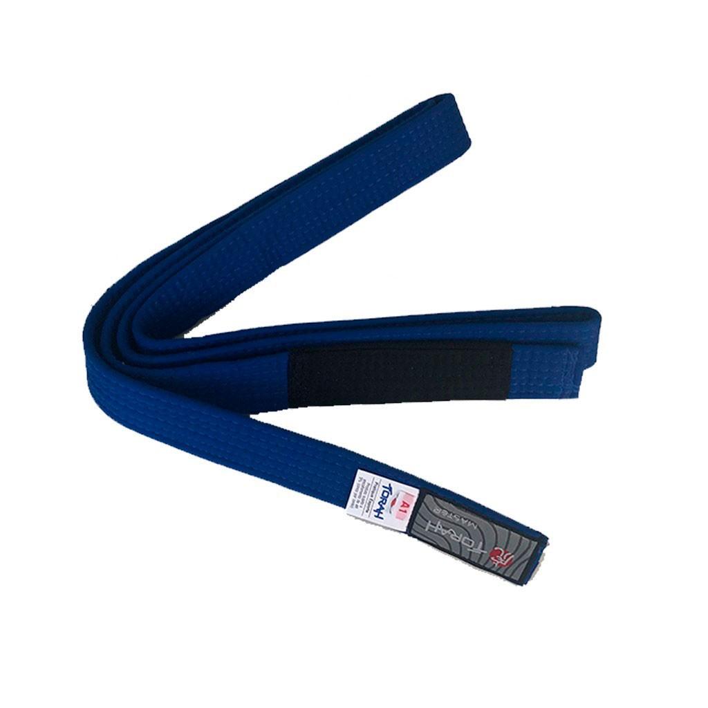 Faixa Jiu Jitsu Torah Master Azul Ponta Preta