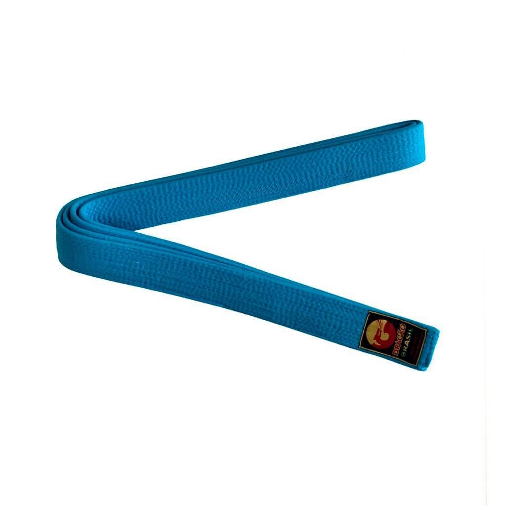 Faixa Judo Dragão Oficial Azul Celeste