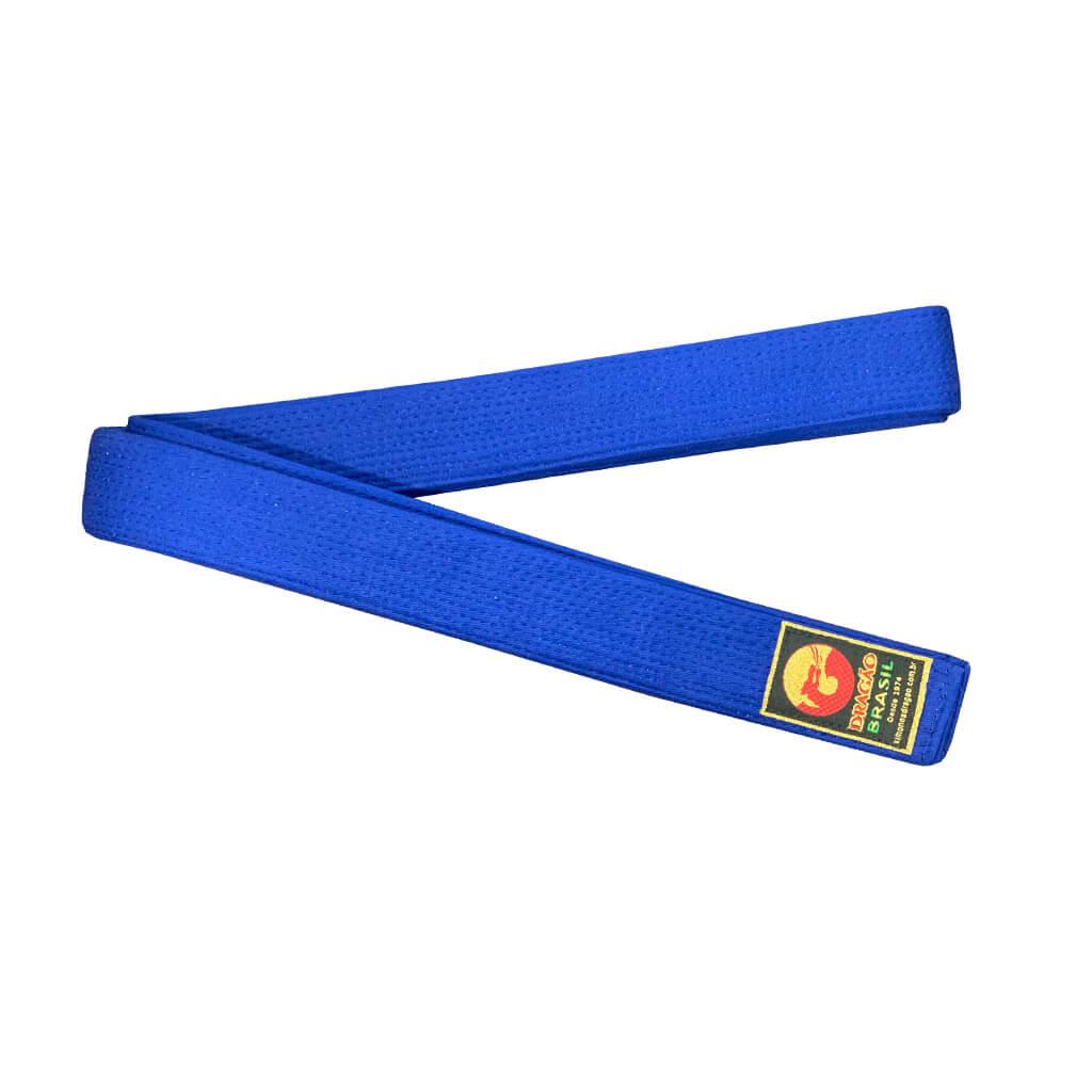 Faixa Judo Dragão Oficial Azul Royal
