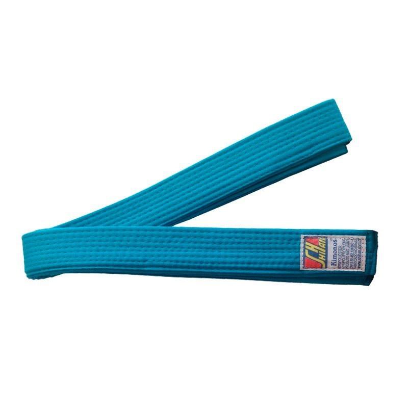 Faixa Judo Shihan Azul Celeste