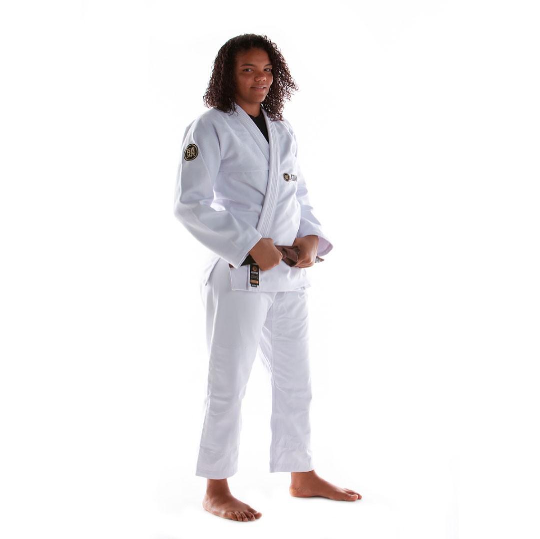 Kimono Jiu Jitsu Atama Classic Branco  Feminino