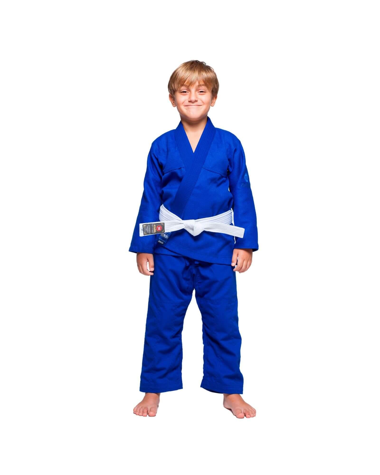 Kimono Jiu Jitsu Atama Infinity Collab Infantil Azul - Unissex