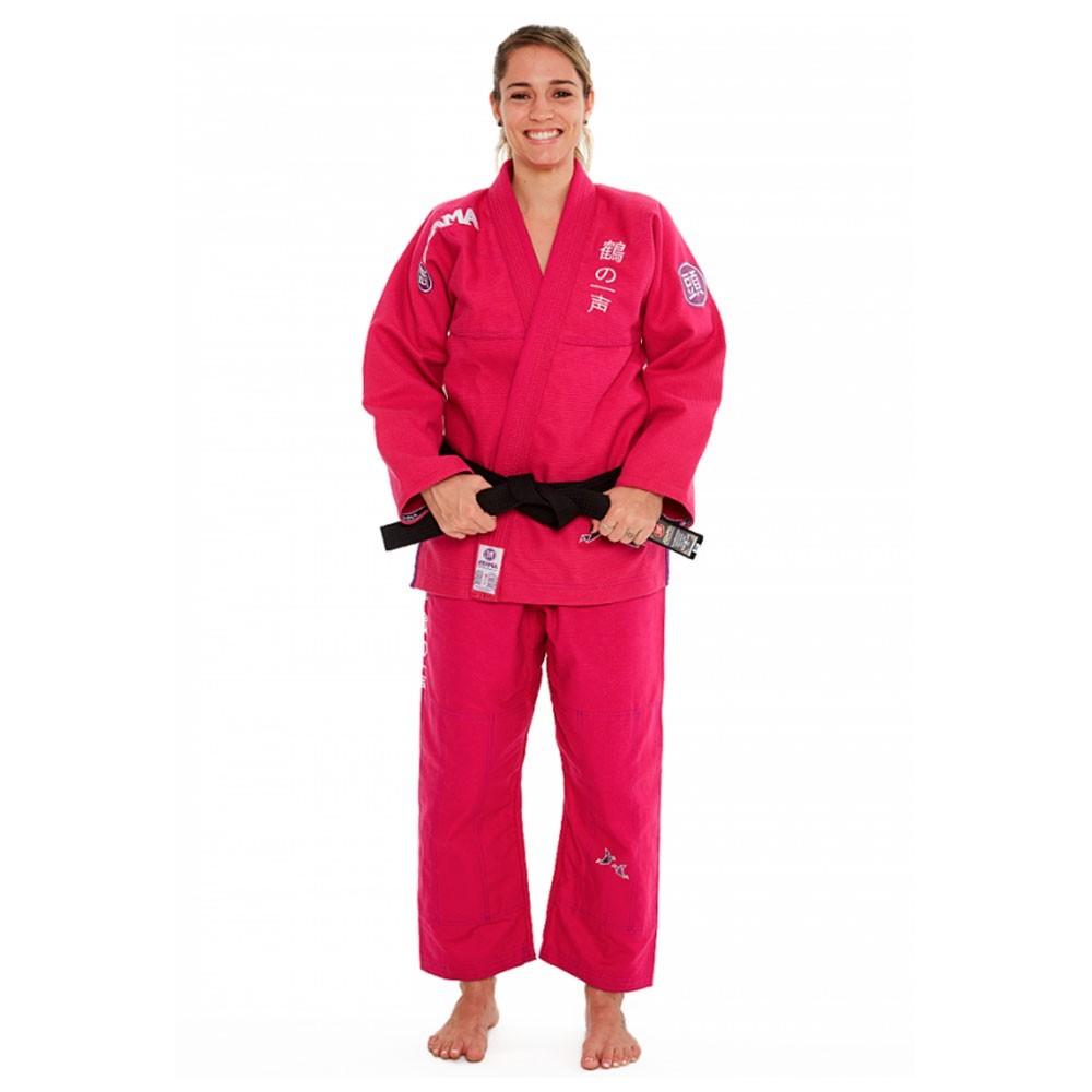 Kimono Jiu Jitsu Atama Tsuru Pink Feminino