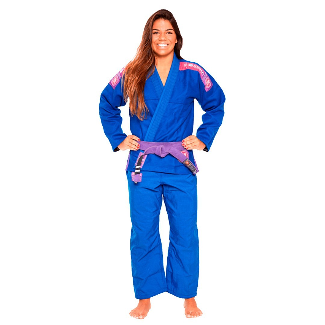 Kimono Jiu Jitsu Atama Ultra Light 2.0 Azul Feminino