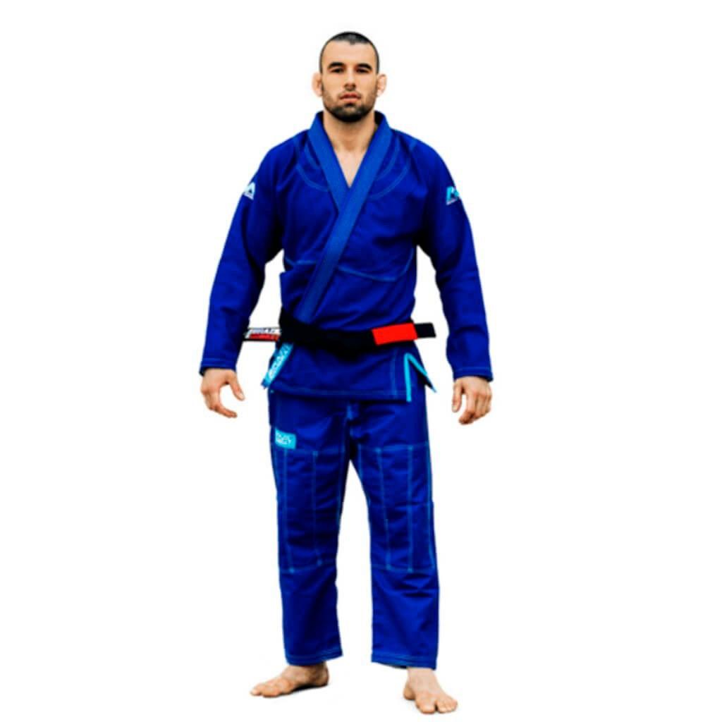Kimono Jiu Jitsu Brazil Combat Make Weight Azul Adulto Unissex