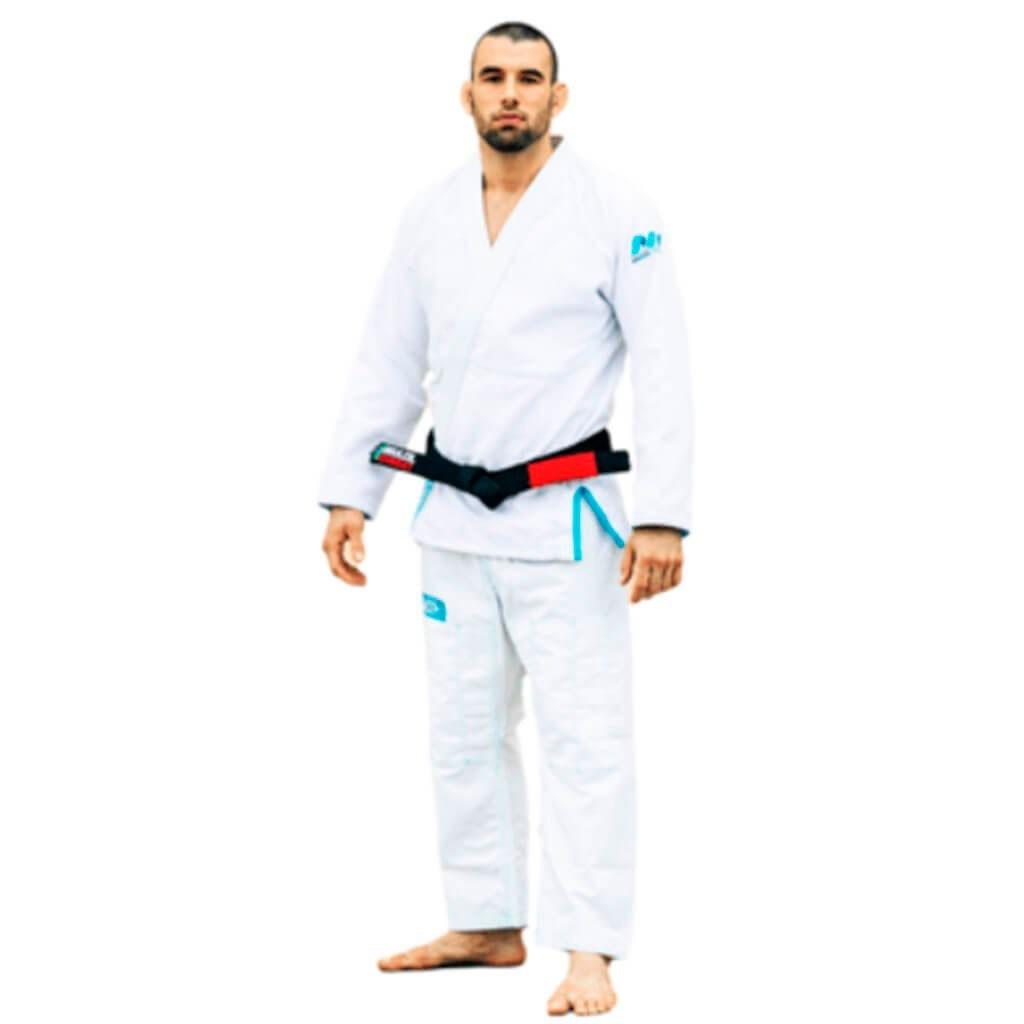 Kimono Jiu Jitsu Brazil Combat Make Weight Branco Adulto Unissex