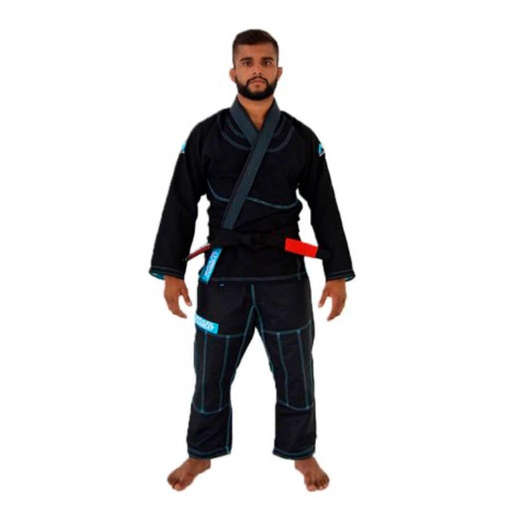 Kimono Jiu Jitsu Brazil Combat Make Weight Preto Adulto Unissex