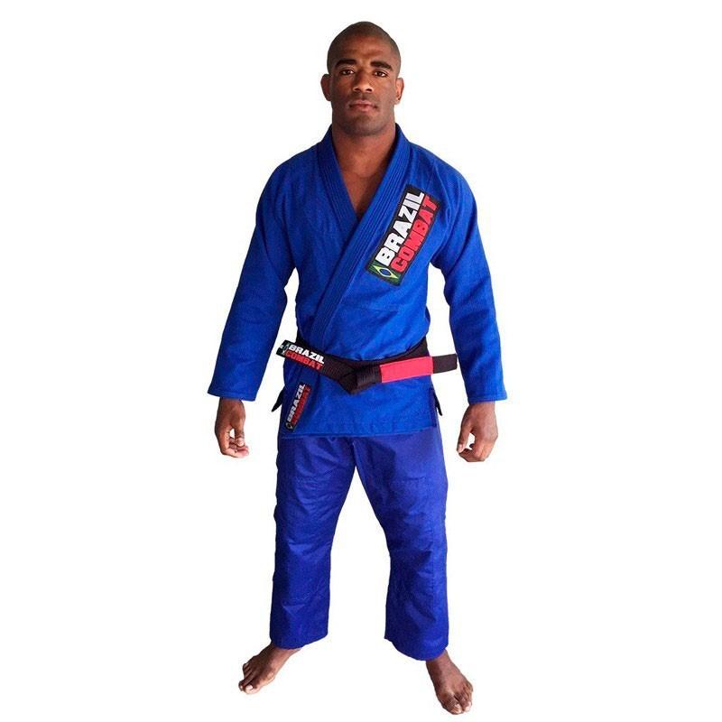 Kimono Jiu Jitsu Brazil Combat Starter Azul Unissex