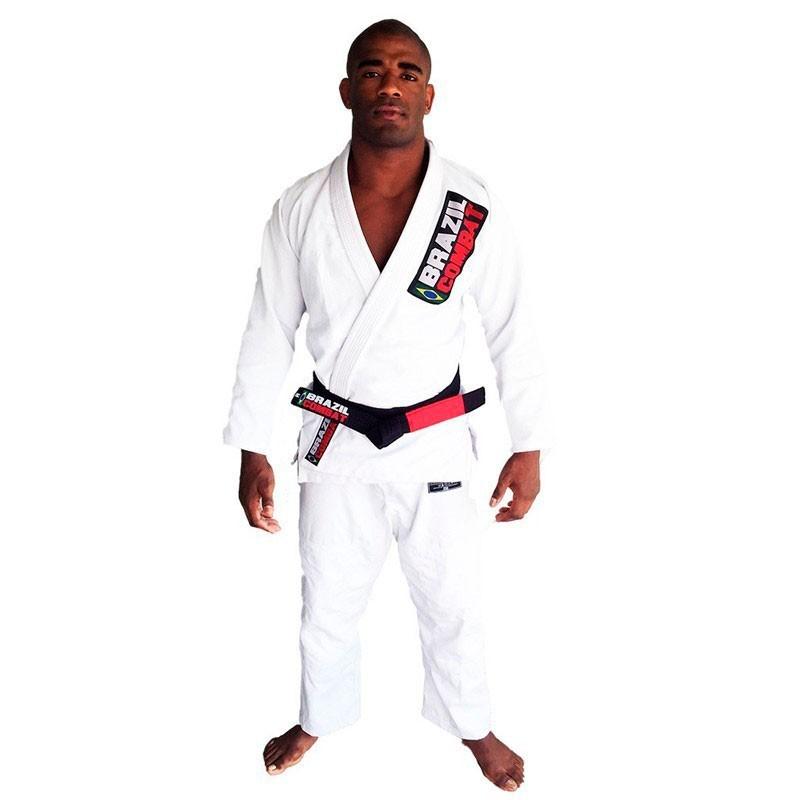 Kimono Jiu Jitsu Brazil Combat Starter Branco Unissex