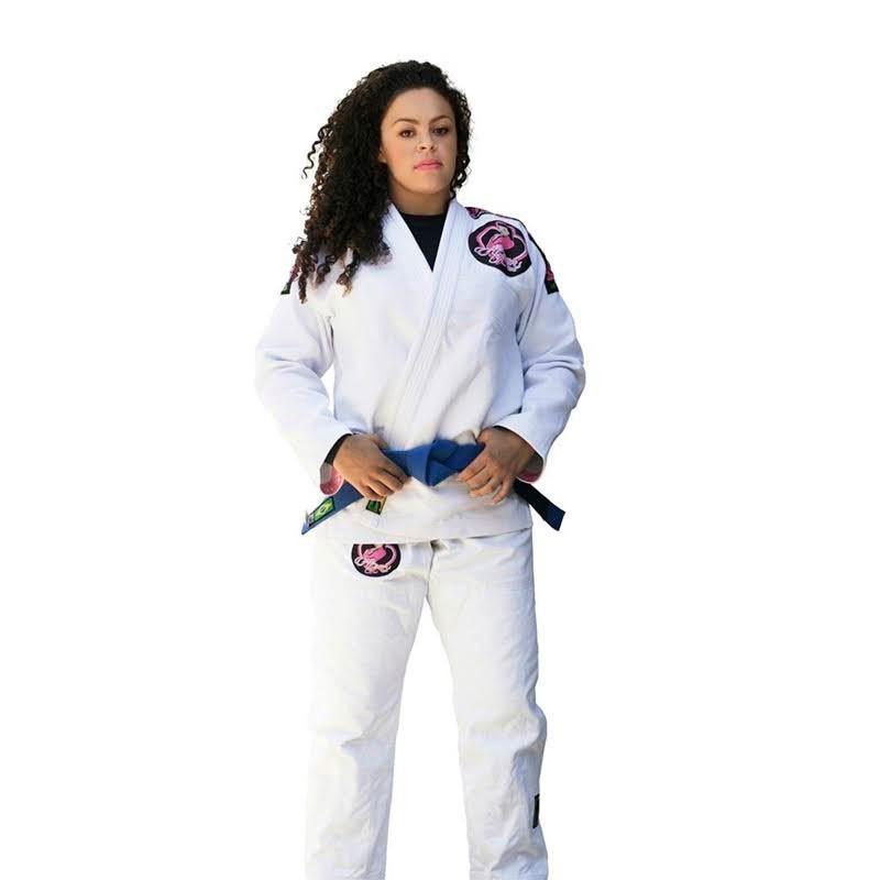 Kimono Jiu Jitsu Cascagrossa Liz Branco Feminino