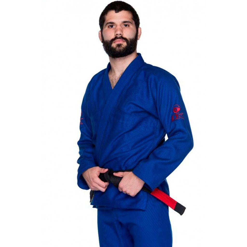 Kimono Jiu Jitsu Dragão DK Azul Adulto Unissex