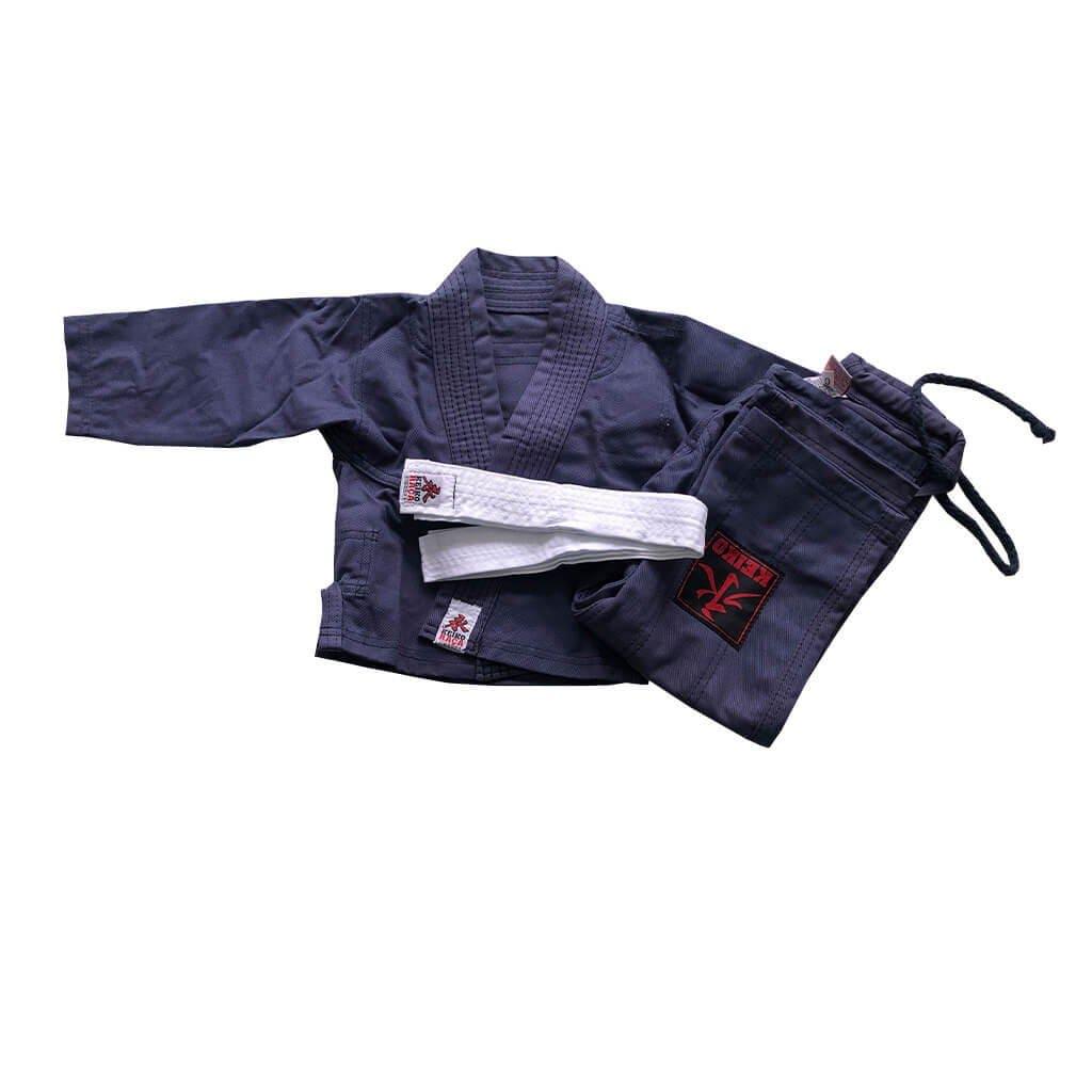 Kimono Jiu Jitsu Keiko Infantil Universal Azul Marinho (Navy)