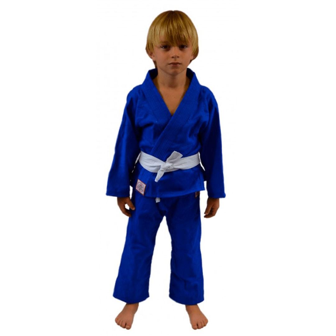 Kimono Jiu Jitsu Keiko Juvenil Universal Azul Infantil