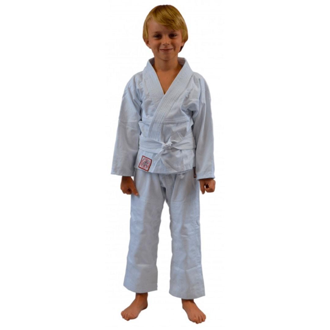 Kimono Jiu Jitsu Keiko Juvenil Universal Branco Infantil