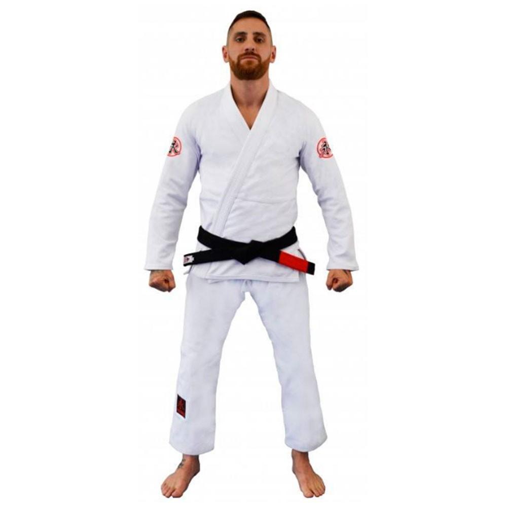 Kimono Jiu Jitsu Keiko Ultra Light Branco Adulto Unissex
