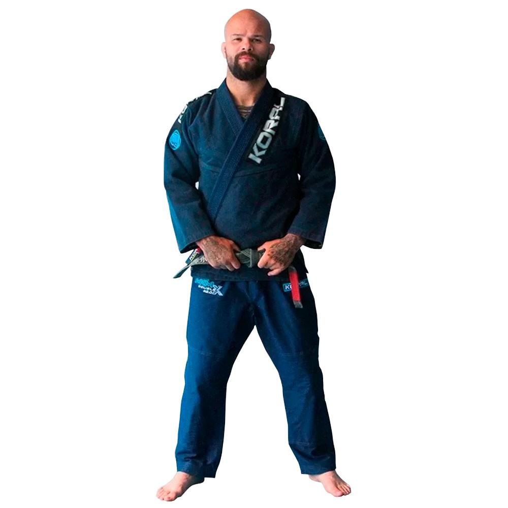 Kimono Jiu Jitsu koral MKM Competition 2.0 Marinho Adulto Unissex
