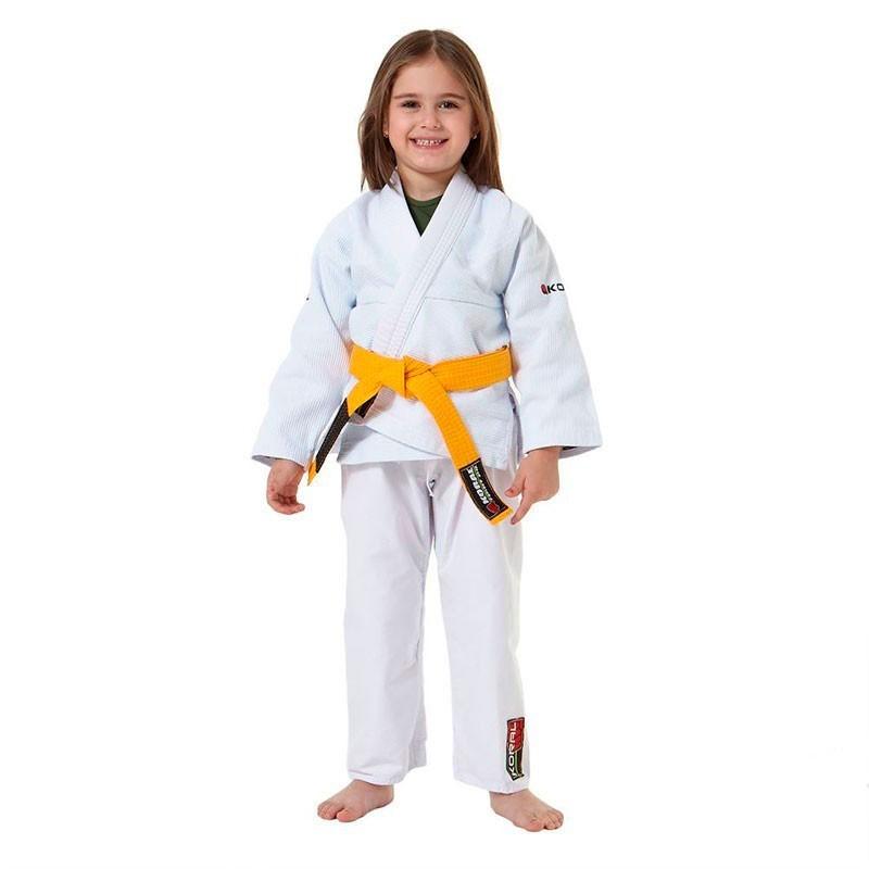Kimono Jiu Jitsu Koral Original kids Branco Infantil