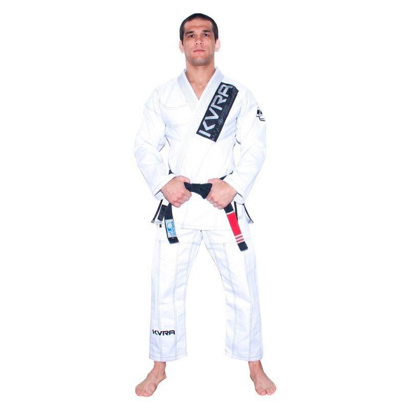 Kimono Jiu Jitsu Kvra Reload Branco Adulto Unissex