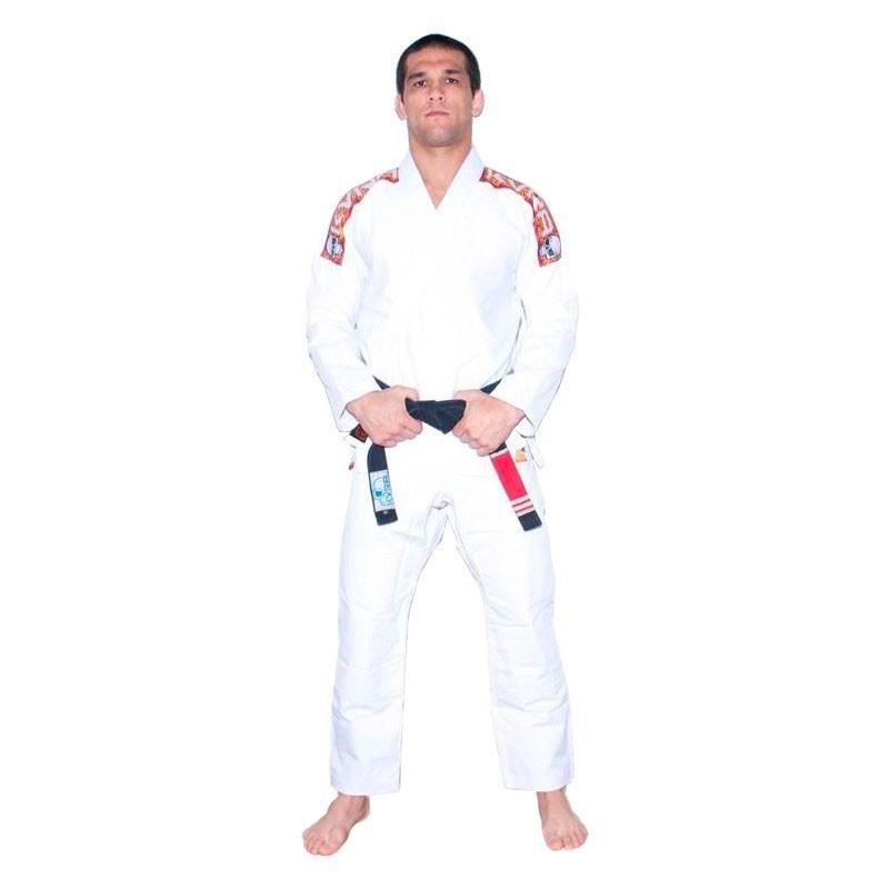 Kimono Jiu Jitsu Kvra Sensei Branco Adulto Unissex