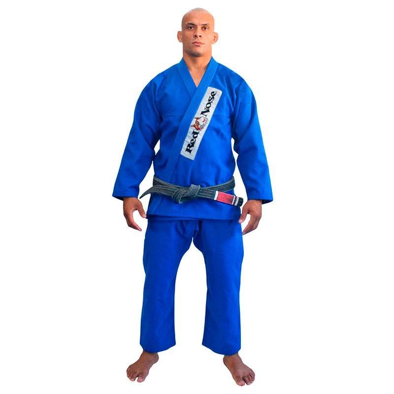 Kimono Jiu Jitsu Red Nose Beginner Azul Adulto Unissex